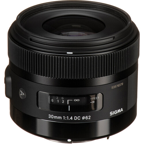 Sigma 30mm f/1.4 DC HSM Art Lens for Pentax