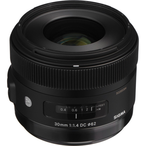 Sigma 30mm f/1.4 DC HSM Art Lens for Sony A