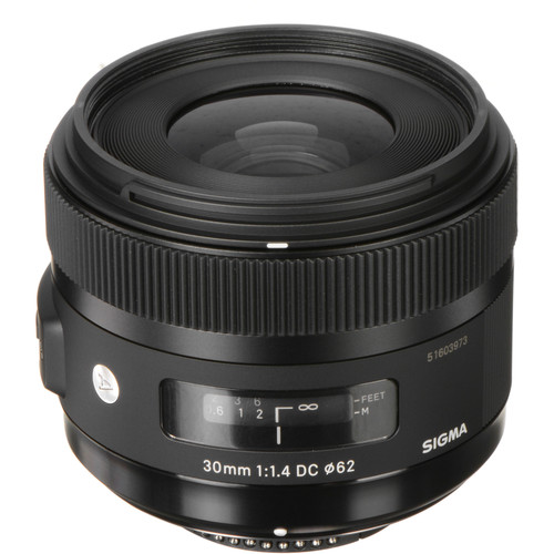 Sigma 30mm f/1.4 DC HSM Art Lens for Nikon F