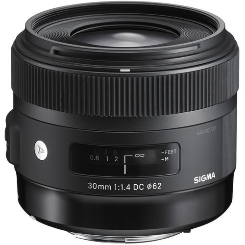 Sigma 30mm f/1.4 DC HSM Art Lens for Sigma SA