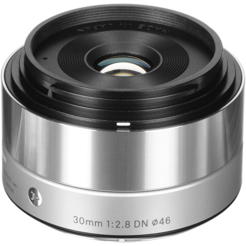 Sigma 30mm f/2.8 DN Lens for Micro Four Thirds Cameras (Silver)