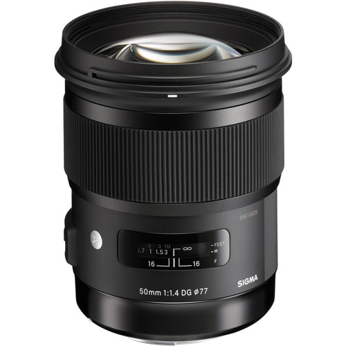 Sigma 50mm f/1.4 DG HSM Art Lens for Sigma SA