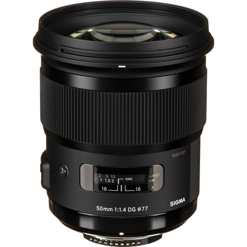 Sigma 50mm f/1.4 DG HSM Art Lens for Nikon F