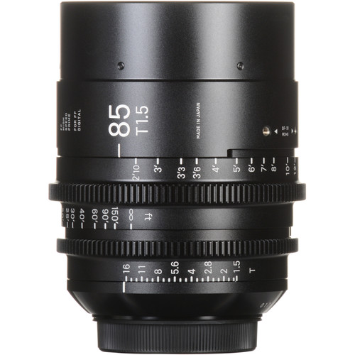 Sigma 85mm T1.5 FF High-Speed Prime (EF Mount)