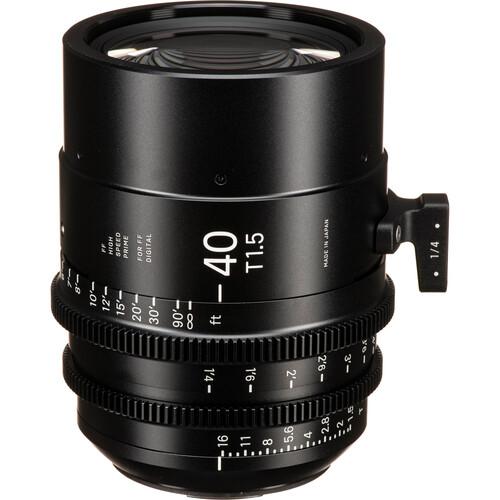 Sigma 40mm T1.5 FF F/CE