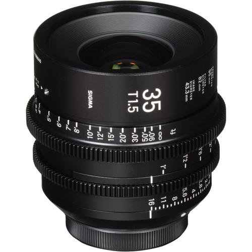 Sigma 35mm T1.5 FF High-Speed Prime (E-Mount, Feet)