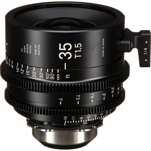 Sigma 35mm T1.5 FF High-Speed Art Prime 2 Lens with /i Technology (PL Mount, Feet)