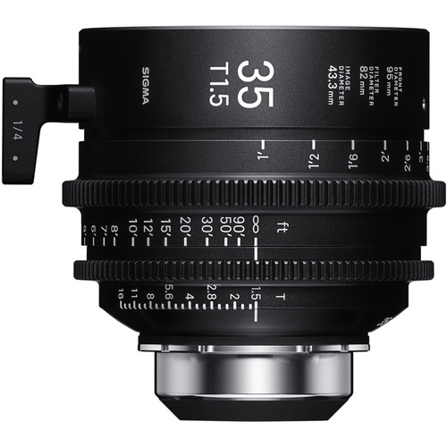 Sigma 35mm T1.5 FF High-Speed Art Prime 2 with /i Technology (PL Mount, Meters)