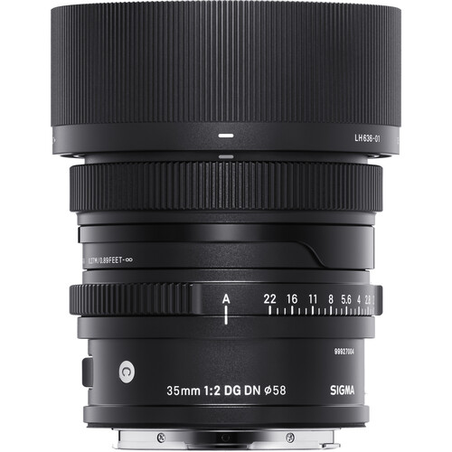Sigma 35mm f/2 DG DN Contemporary Lens for Sony E