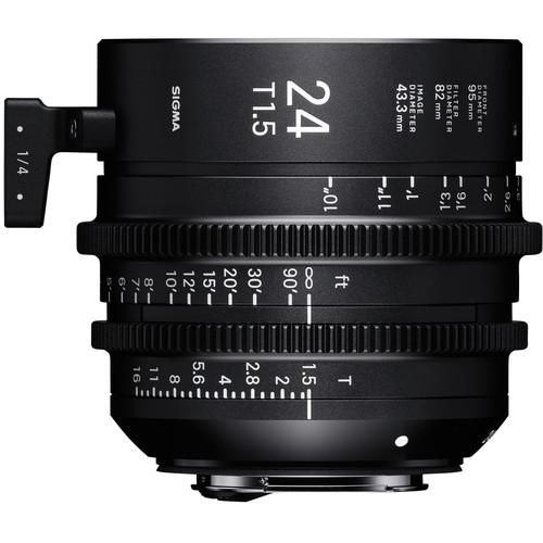 Sigma 24mm T1.5 FF High-Speed Prime (E, Feet)