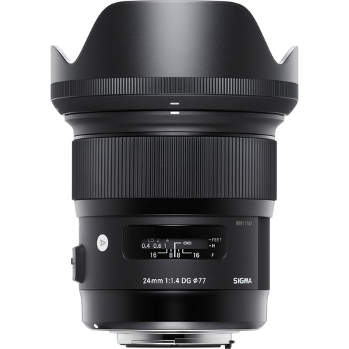Sigma 24mm f/1.4 DG HSM Art Lens for Sony A
