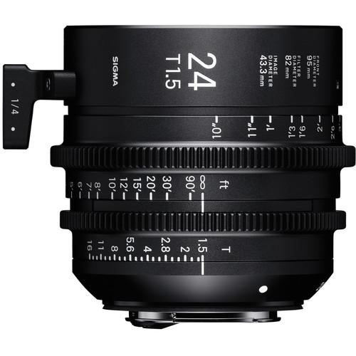 Sigma 24mm T1.5 Fully Luminous FF High-Speed Prime (E, Feet)