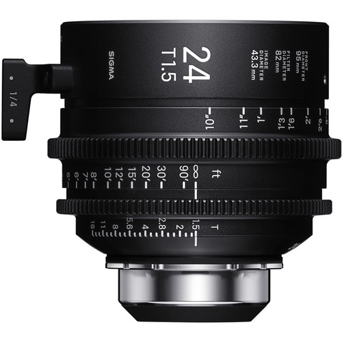 Sigma 24mm T1.5 FF High-Speed Art Prime 2 Lens with /i Technology (PL Mount, Meters)