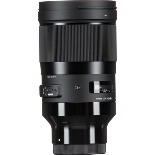 Sigma 40mm f/1.4 DG HSM Art Lens for Sony E
