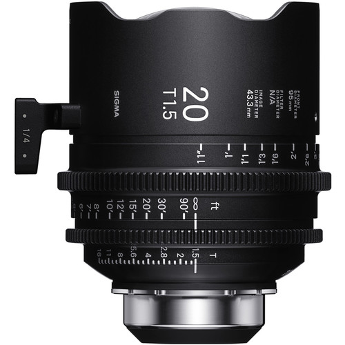 Sigma 20mm T1.5 FF High-Speed Art Prime 2 with /i Technology (PL Mount, Meters)