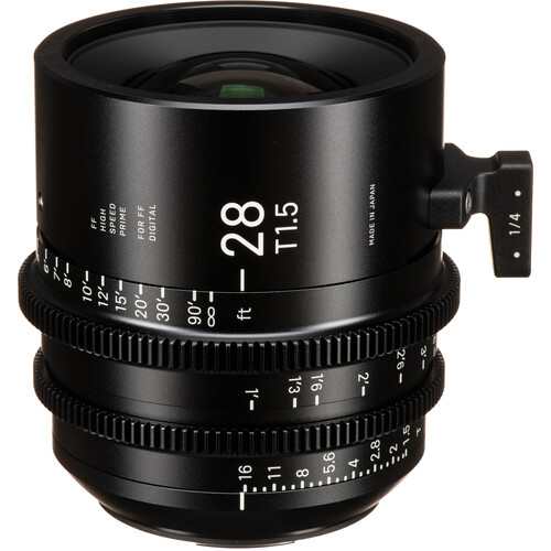 Sigma 28mm T1.5 FF High-Speed Prime (EF Mount)