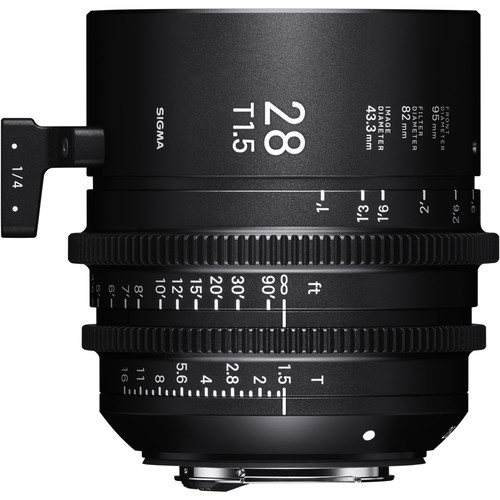 Sigma 28mm T1.5 Fully Luminous FF High-Speed Prime (PL Mount)