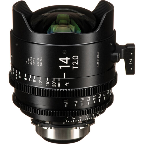 Sigma 14mm T2 FF High-Speed Art Prime 2 with /i Technology (PL Mount, Feet)