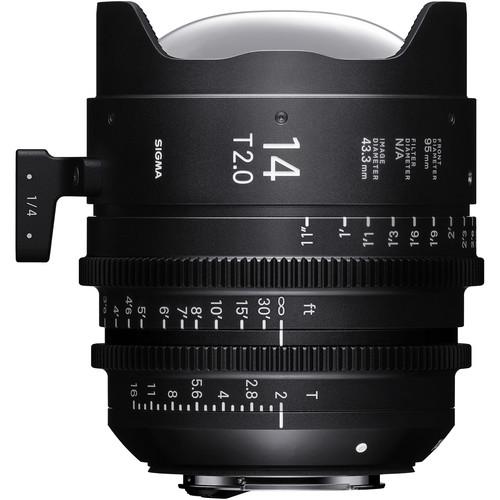 Sigma 14mm T2 Fully Luminous FF High-Speed Prime (PL Mount, Feet)