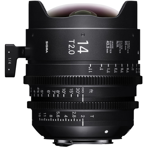 Sigma 14mm T2 FF High-Speed Prime (Canon EF Mount, Meters)