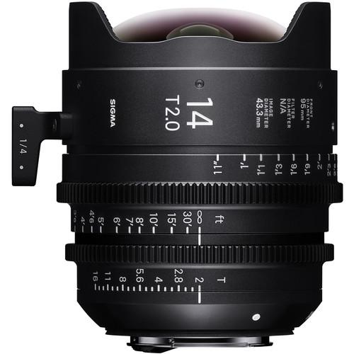 Sigma 14mm T2 FF High-Speed Prime (E Mount, Metric)