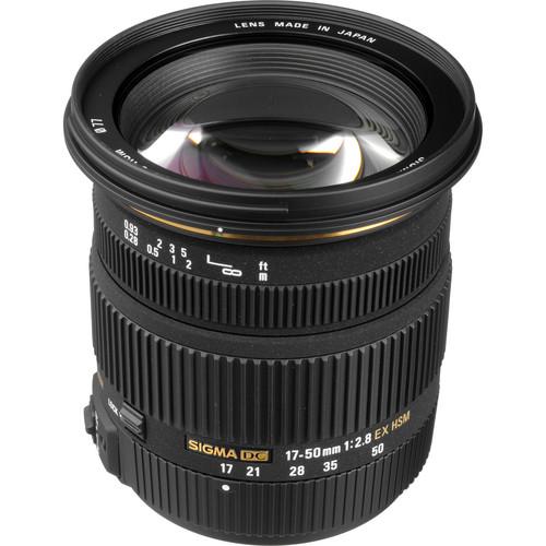 Sigma 17-50mm f/2.8 EX DC HSM Zoom Lens for Sony/Minolta DSLRs