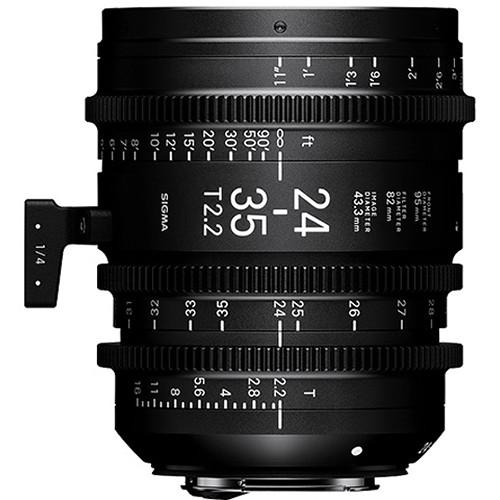 Sigma 24-35mm T2.2 FF F/VE (Metric)