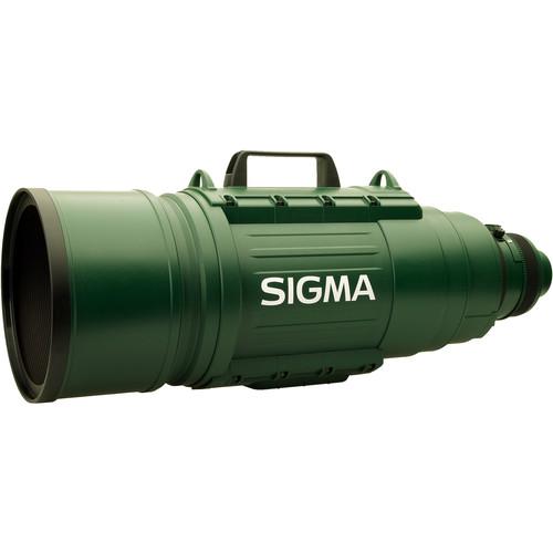 Sigma 200-500mm f/2.8 EX DG APO IF Autofocus Lens for Canon SLR - Green