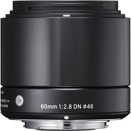 Sigma 60mm f/2.8 DN Art Lens for Sony E (Black)