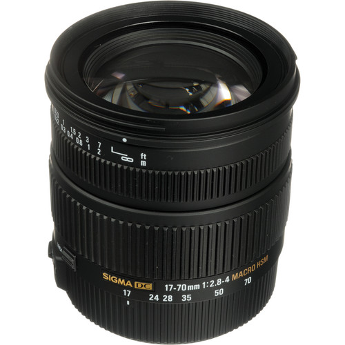 Sigma 17-70mm f/2.8-4 DC Macro OS HSM Lens for Canon Digital Cameras