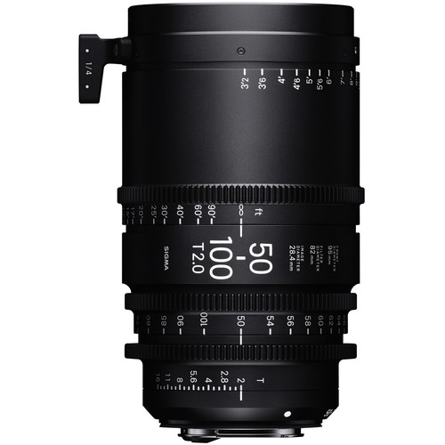 Sigma 50-100mm T2 High-Speed Zoom Lens (PL, Feet)