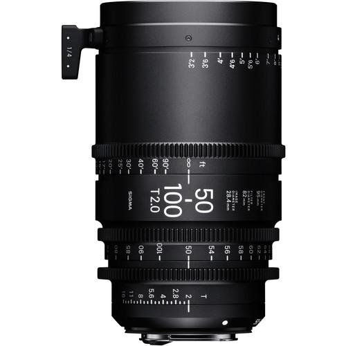 Sigma 50-100mm T2 Fully Luminous High-Speed Zoom Lens (PL, Feet)