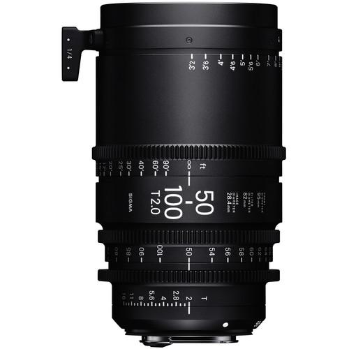 Sigma 50-100mm T2 High-Speed Zoom Lens (PL, Meters)