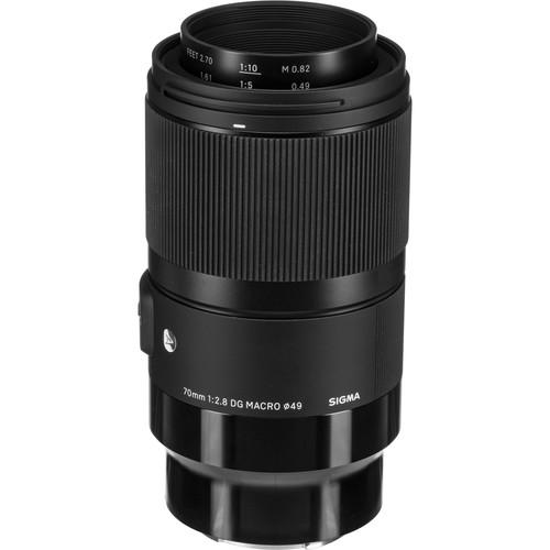 Sigma 70mm f/2.8 DG Macro Art Lens for Sony E