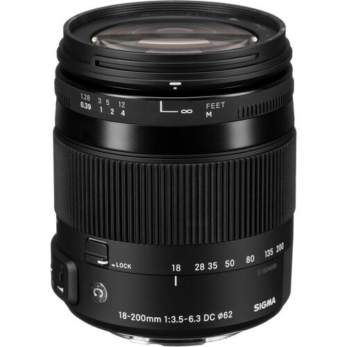 Sigma 18-200mm f/3.5-6.3 DC Macro HSM Lens For Sony Digital Cameras