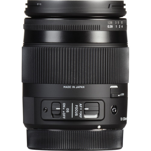 Sigma 18-200mm f/3.5-6.3 DC Macro OS HSM Contemporary Lens for Nikon F