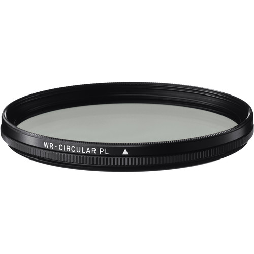 Sigma 58mm WR (Water Repellent) Circular Polarizer Filter