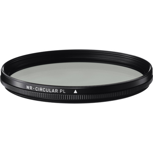 Sigma 72mm WR (Water Repellent) Circular Polarizer Filter