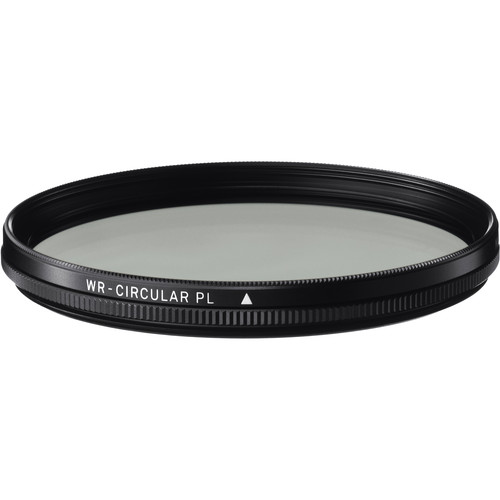 Sigma 77mm WR (Water Repellent) Circular Polarizer Filter