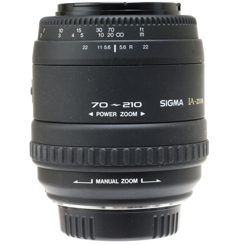 Sigma Zoom Telephoto 70-210mm f/4-5.6 Power Zoom Autofocus Lens for Minolta Maxxum