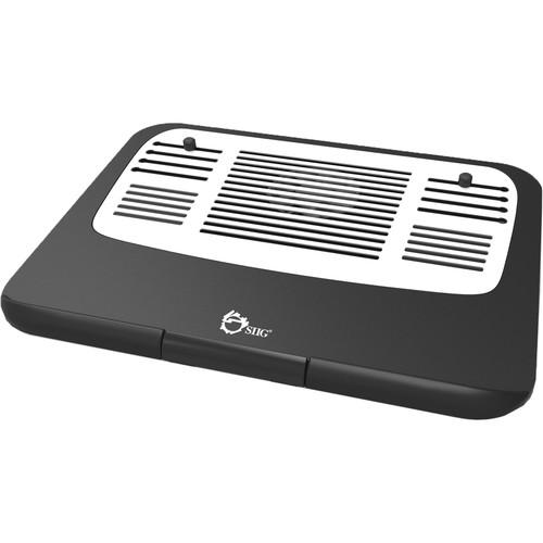 SIIG Ergonomic Multi-Angle Tilted Laptop Cooling Pad