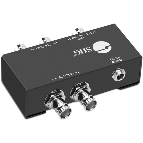 SIIG 1x4 3G-SDI Distribution Amplifier