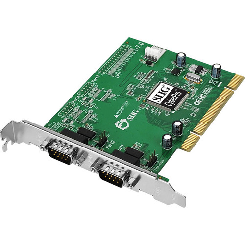 SIIG CyberSerial Dual Serial Port PCI Adapter