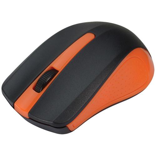 SIIG 6-Button Ergonomic Wireless Optical Mouse (Orange)