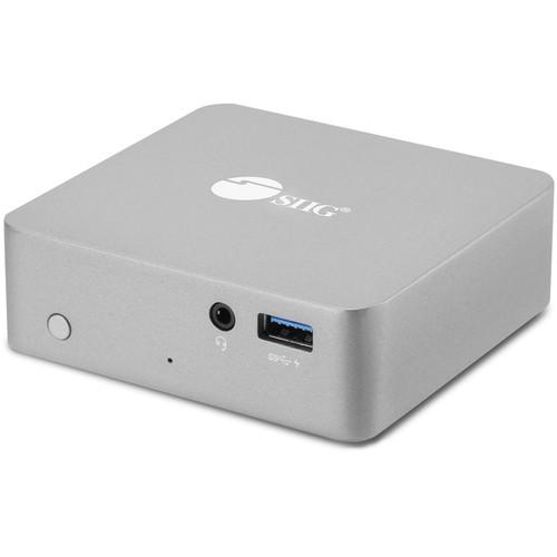 SIIG Aluminum USB Type-C Mini Docking Station