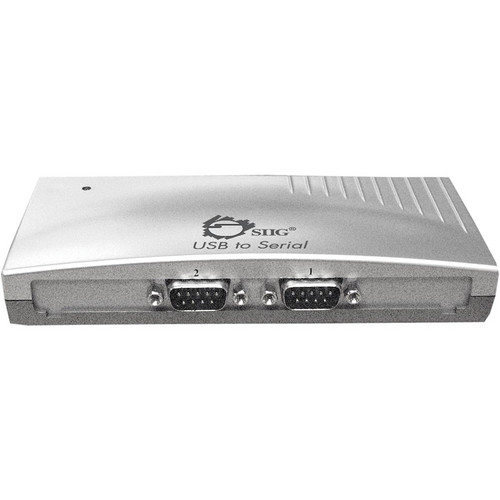 SIIG USB To 2-Port Serial Converter Box