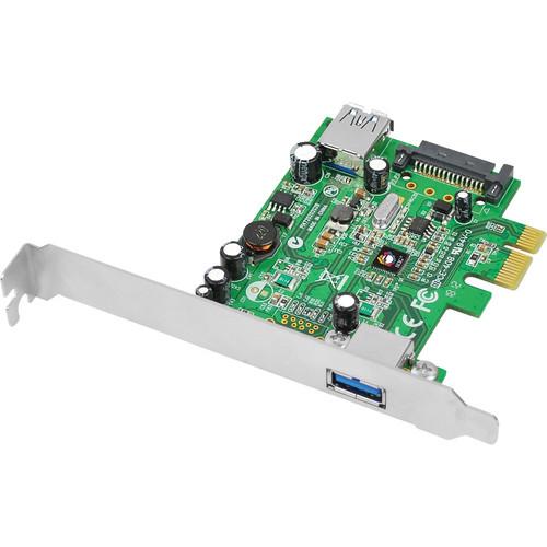SIIG Dual Profile 2-Port USB 3.0 PCIe i/e Adapter