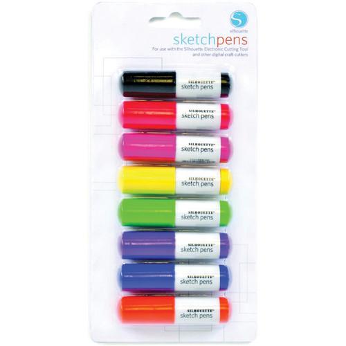 silhouette Sketch Pen Starter Pack (8 Pens)