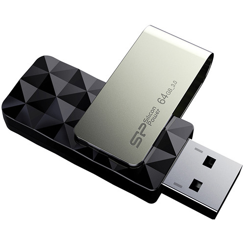Silicon Power 64GB Blaze B30 USB 3.0 Flash Drive