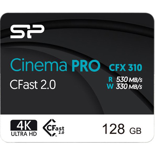 Silicon Power 128GB CFX310 CFast 2.0 Memory Card